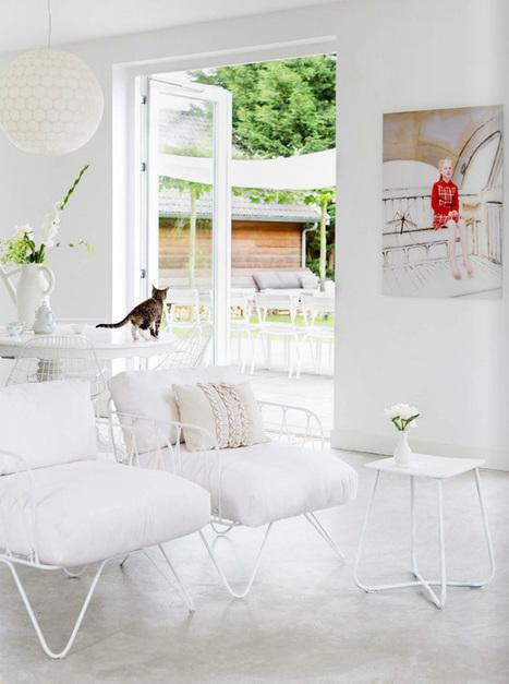 Une maison tout en lumière - Frenchy Fancy | Décoration d'intérieurs | Scoop.it