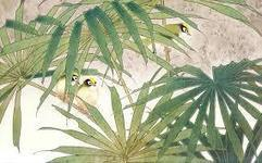 Japanese plant and bird image | Year 4 Maths: Japanese Motifs | Scoop.it