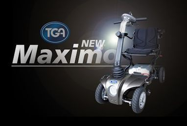 TGA Maximo: New 4-wheel Folding Mobility Scooter | Differently Abled and Our Glorious Gadgets | Scoop.it