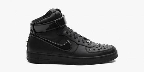 Nike Air Force 1 Downtown Hi Spike Black • Highsnobiety   Abdella   Scoop.it