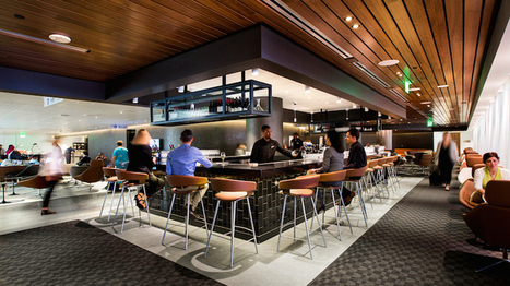 Qantas, British Airways and Cathay Pacific open expanded lounge at LAX - Australian Aviation   Airline Passenger Experience   Scoop.it