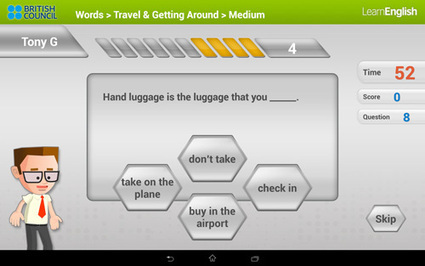 10 Free Mobile Apps To Help You Learn English Faster | Around L-ICT | Scoop.it