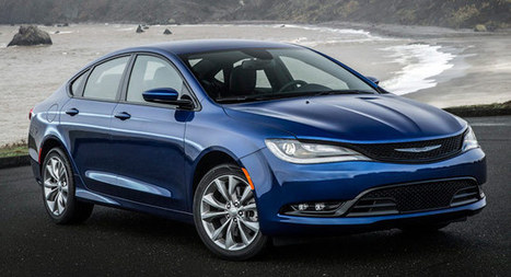 2015 Chrysler 200 2.4L Returns 35 MPG Highway – Plus 80 New Photos and 2 Videos - Carscoops | Automotive | Scoop.it