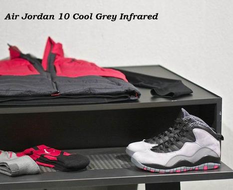 Shop Cheap Air Jordan 10 Cool Grey Infrared Black for Sale, Air Jordan 10 for Sale | Shop Cheap Air Jordan 10 Cool Grey Infrared Black for Sale, Air Jordan 10 for Sale | Scoop.it