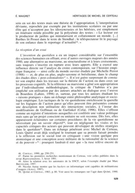 Pratiques et lectures / stratégies et tactiques / Michel de Certeau /Maigret Éric   veille réflexive et idéologique   Scoop.it