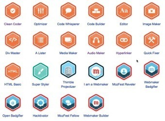 Open Badges & Webmaker Badges in 2013: an ongoing ... - Persona | Digital Badges | Scoop.it