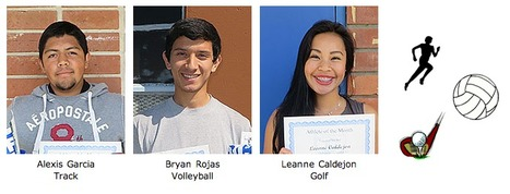 Athletes of the Month: March | El Rancho High School | Scoop.it