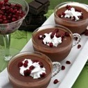 Dark Chocolate Pomegranate Mousse With Coconut Cream #SundaySupper | Food for Foodies | Scoop.it