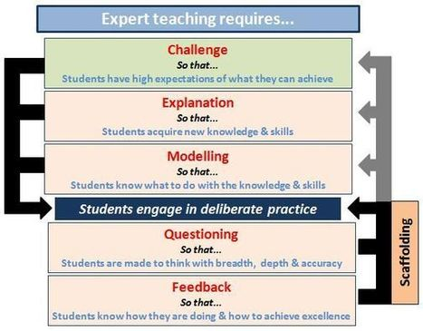 Interesting disussion / suggestions about expert teaching - with flow charts! | Plant Biology Teaching Resources (Higher Education) | Scoop.it