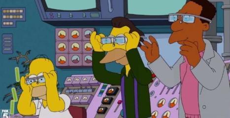 Google Glass : Les Simpsons parodient les lunettes intelligentes de ... - meltyStyle | curation lunettes | Scoop.it
