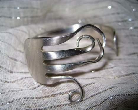 10 modi per riciclare creativamente le posate (cucchiai, forchette, ecc..)   Laranocchia   Scoop.it