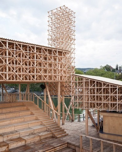 ETH Zurich students build floating pavilion for Manifesta 11 | The Architecture of the City | Scoop.it