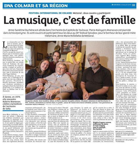 La musique c'est de la famille   Colmar et ses manifestations   Scoop.it