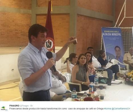 FINAGRO + 20160818 Jornada de oferta institucional e integración productiva en el Tolima. Carlos Ramiro Chávarro, Presidente | @CarlosRamiroCH | Scoop.it