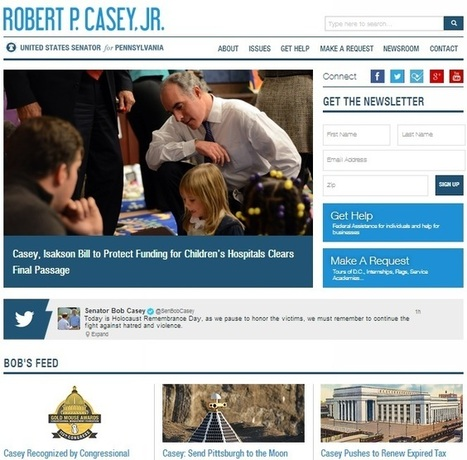 Who has the best Web sites and social media outreach in Congress? - Washington Post (blog)   Creative & Buzzworthy Social Media   Scoop.it