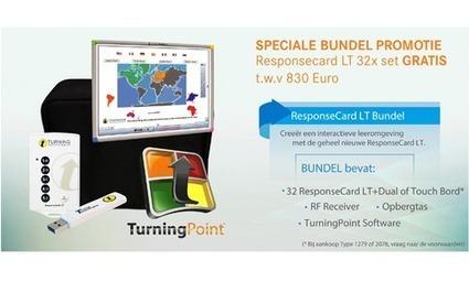 Gratis set Responscard LT stemkastjes bij aankoop eInstruction digibord. | Transcontinenta educatie nieuws | Scoop.it