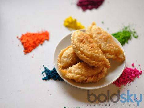 Holi Special: Dry Fruit Gujiya Recipe | Indian Food Recipes | Scoop.it
