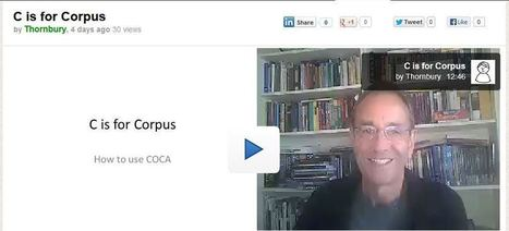 C is for (COCA) Corpus | Technology and language learning | Scoop.it