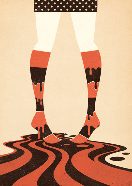 The feminine illustrations of Zara Pickens | Illustration | Creative Bloq | eHS Mobile Classroom | Scoop.it