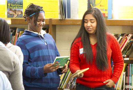 Greensboro student's love of books spurs giveaway - Greensboro News & Record   ELL - ESL   Scoop.it