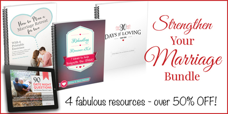 Strengthen Your Marriage Bundle! - Homemaking Ministries | Marriage and Family (Catholic & Christian) | Scoop.it