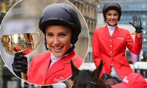 Rachael Finch arrives in Sydney on horseback with the Melbourne Cup | Horse Racing News | Scoop.it