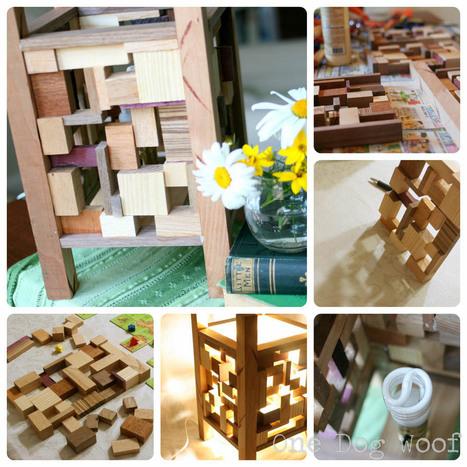 Scrap Wood Lantern Tutorial - One Dog Woof | L'Etablisienne, un atelier pour créer, fabriquer, rénover, personnaliser... | Scoop.it