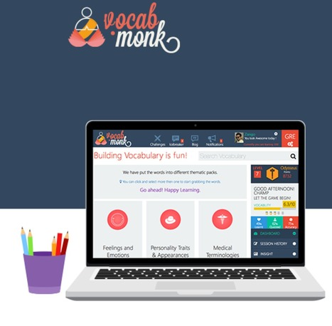 Improve Your Vocabulary - VocabMonk | Remote teaching, remote learning | Scoop.it