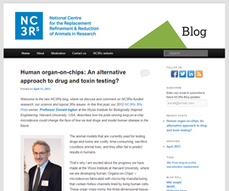 NC3Rs launches new blog   Alternatives and refinements to animal research   Scoop.it