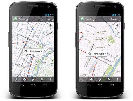 Google Maps gets more public transportation schedules worldwide ... | 1ASAP Transport | Scoop.it