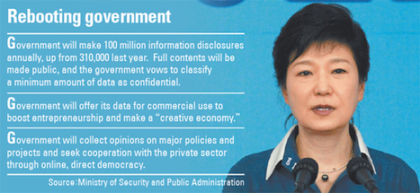 Park unveils 'Government 3.0' | Media & Marketing | Scoop.it