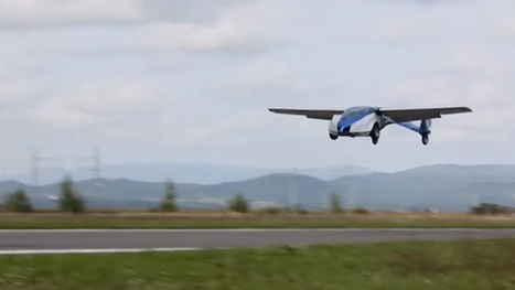 Finally, a functional flying car that actually looks pretty cool | Strange days indeed... | Scoop.it