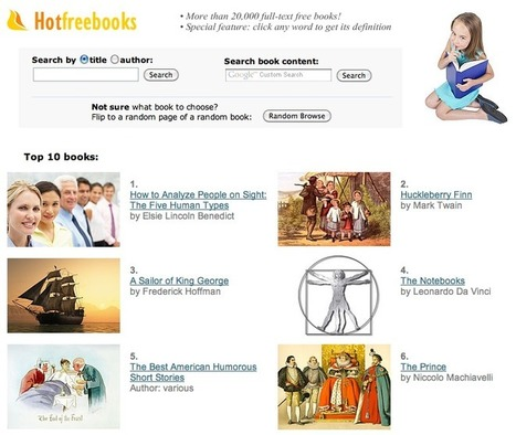 HOT FREE BOOKS • 20,000+ full-text free books! | Teaching & Learning Resources | Scoop.it
