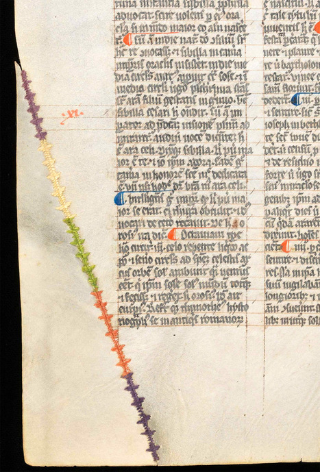 The #Ingenuity and #Beauty of #Creative #Parchment #Repair in #Medieval #Books. #art | Luby Art | Scoop.it