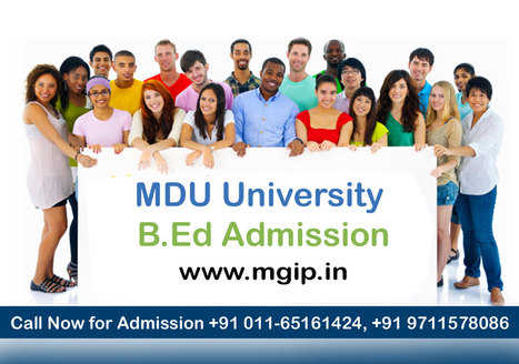 MDU University B.Ed Admissio | MDU B.Ed Admission | Scoop.it