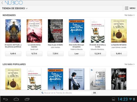 Nubico para Android, tu biblioteca digital más completa en cualquier ... - El Android Libre   Tecnología   Scoop.it