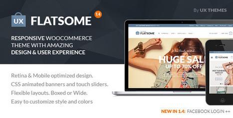 Flat Responsive WooCommerce Theme v1.4 | Download Free Full Scripts | Wordpress Ecommerce | Scoop.it