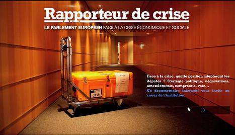 Web-documentaire: le parlement européen face à la crise économique et sociale - Curiosphere.tv | Remue-méninges FLE | Scoop.it