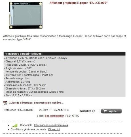 Un afficheur e-paper pour le Raspberry Pi   Framboise 314, le ...   rasbery pi console   Scoop.it