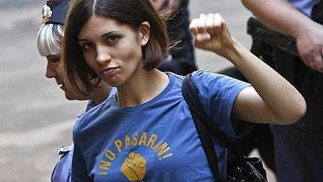 La Pussy Riot Tolokonnikova transférée en Sibérie   Intervalles   Scoop.it