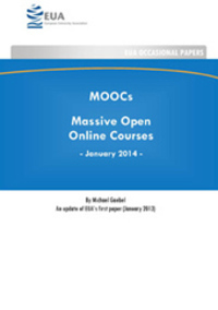 EUA > EUA publishes second paper on Massive Open Online Courses (MOOCs)