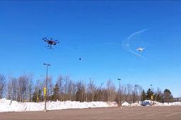 Vidéo : un drone anti-drones capture ses cibles avec un filet | Midenews Everywhere | Scoop.it