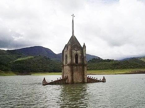 8 Amazing Drowned Buildings | ERaposoGeog400 | Scoop.it