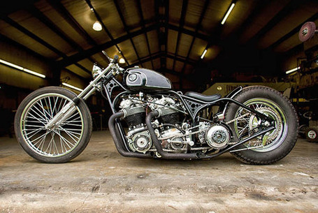 FLUX Mag » Five of the Coolest Café Racers | vintage motos | Scoop.it