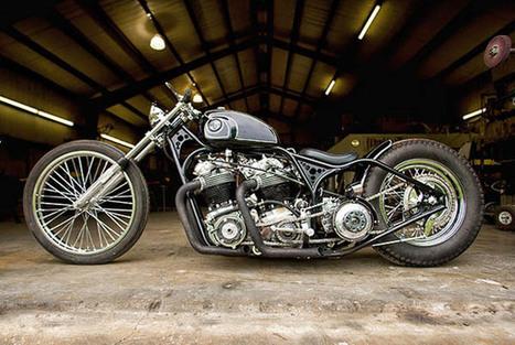 FLUX Mag » Five of the Coolest Café Racers | vintage motos | Scoop.it