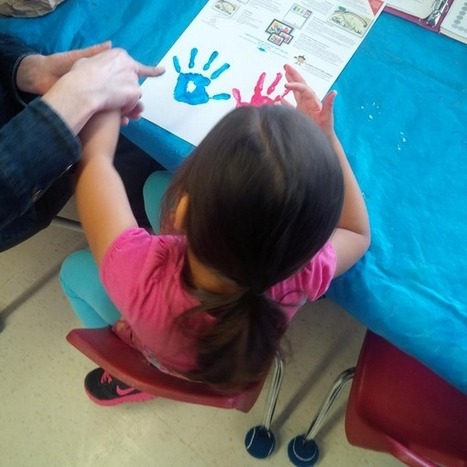 """Chris Lanis on Twitter: """"Making learning visible through play-based learning. Counting by 5's in FDK. http://t.co/ctp0vhqEkK"""" 