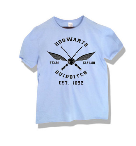 HARRY POTTER Hogwarts Quidditch T-shirt Unisex | New Collection | Scoop.it