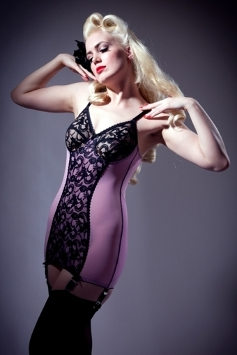 Pink Secret Body Shaper by Stockings and Romance in Girdles and Shapewear | Vulbus Incognita Magazine | Scoop.it