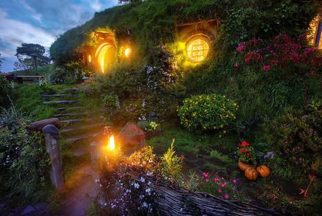 Bilbo's Hobbit Hole at Bag End | Fashion | Scoop.it