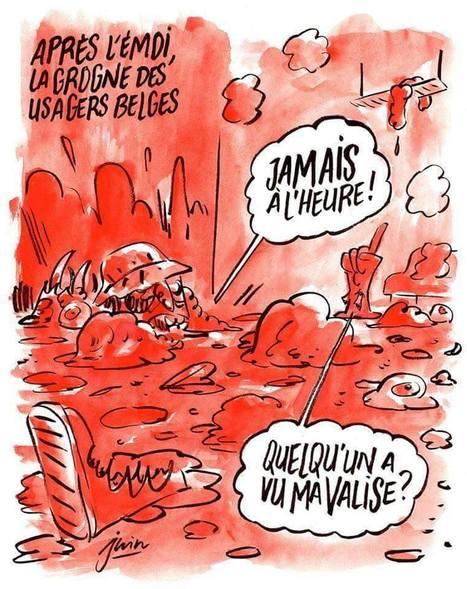 Dessin du torchon de presse Charlie Hebdo sur la Belgique!   Dessins de Presse   Scoop.it